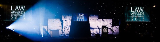 Law Awards of Scotland 2013