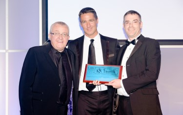 Tam Cowan, Adrian McKenna and Brian Inkster - Managing Partner of the Year - Law Awards of Scotland 2014