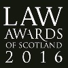 Law Awards of Scotland 2016