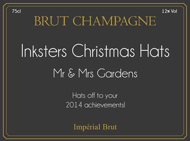 Mr & Mrs Gardens - Hats off Inksters 2014