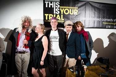 This is Your Trial - Brian Inkster - The Cast with Pianist