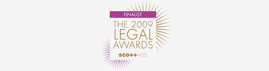 The 2009 Legal Awards
